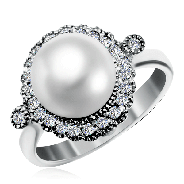 Купить Кольцо из серебра R-PGR0076