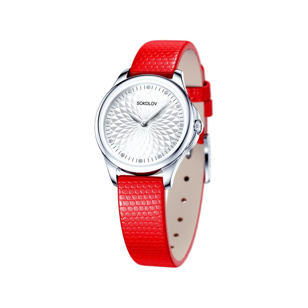 Часы женские SOKOLOV из серебра 136.30.00.000.03.03.2 цена и фото