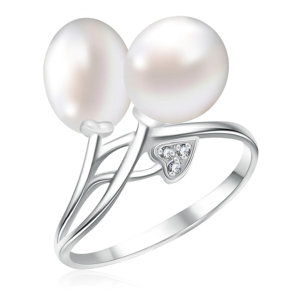 Купить со скидкой Кольцо из серебра 85612018