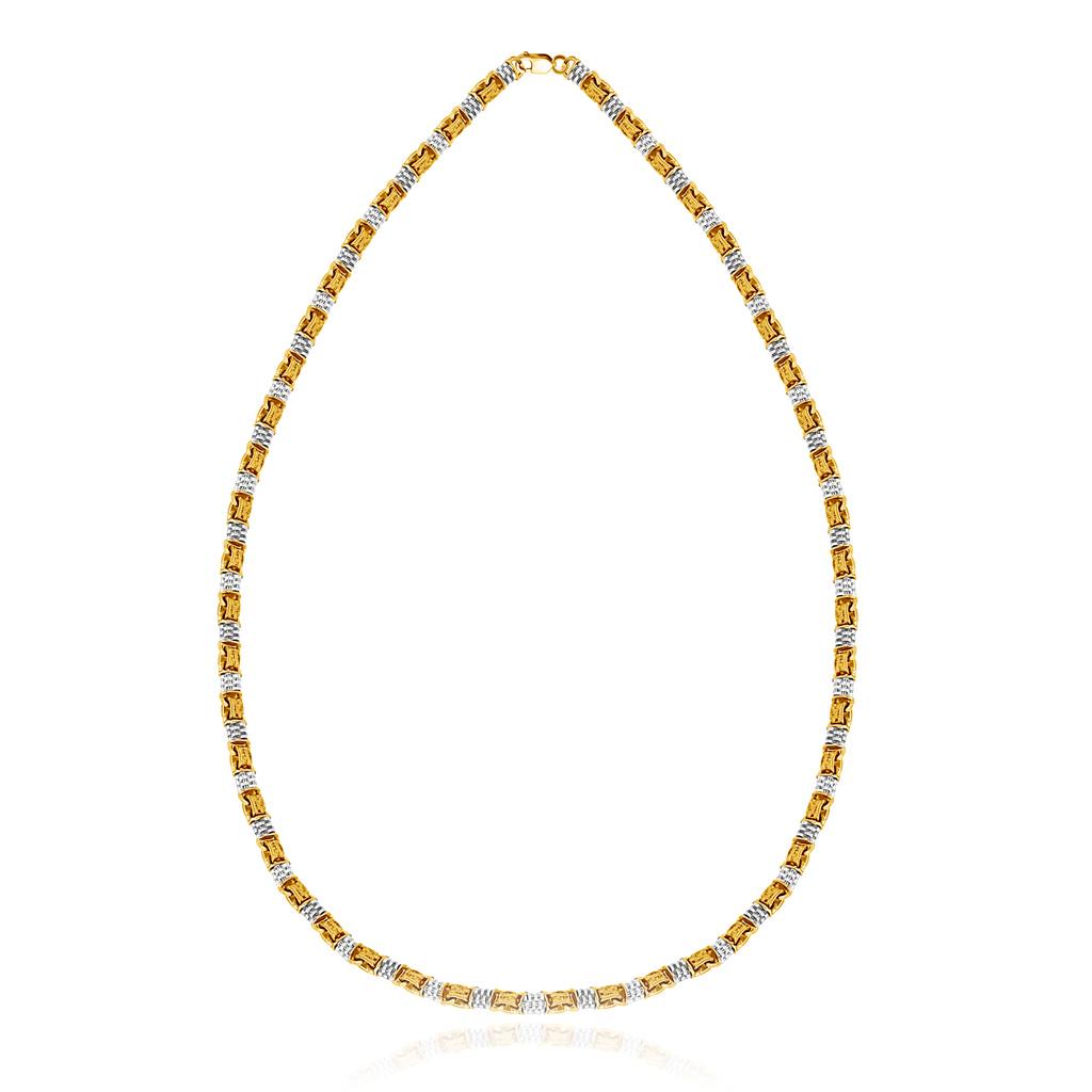 Цепь православная из серебра позолоченная 04.005 позолоченная цепочка