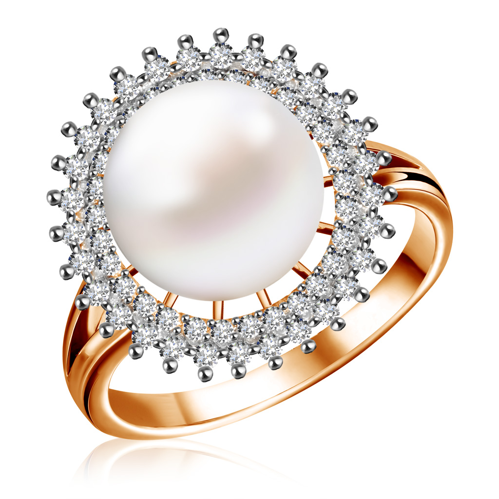 Кольцо из золота КЛ-7036