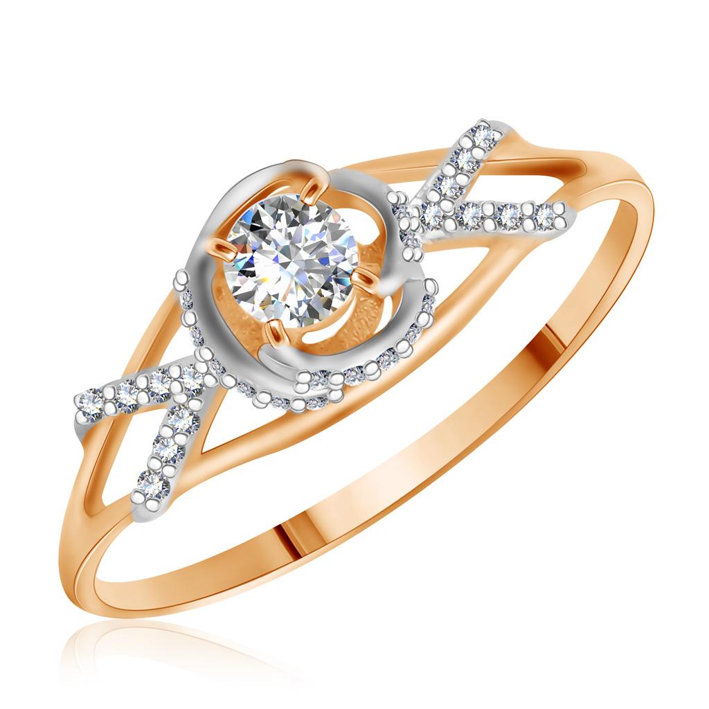 Купить со скидкой Кольцо из золота Ф7157-36-0019