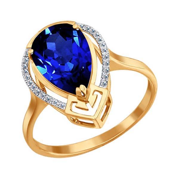 Кольцо из золота 6012009