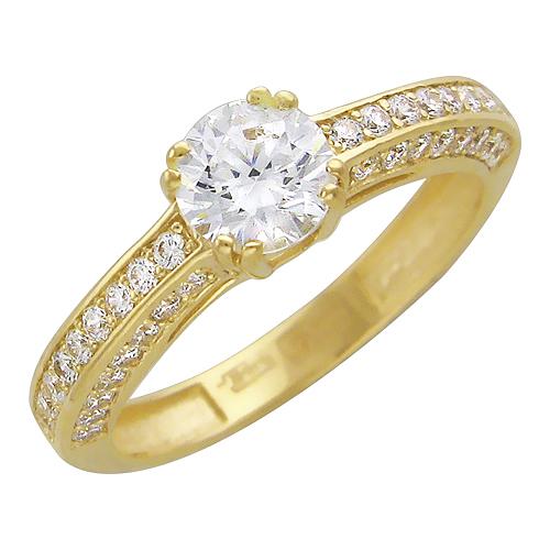 Кольцо из золота Э2972-01К135332