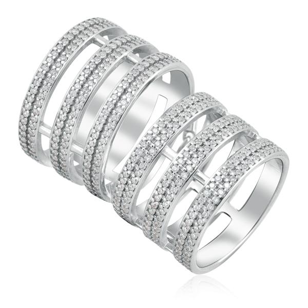 Купить Кольцо из серебра 94011229