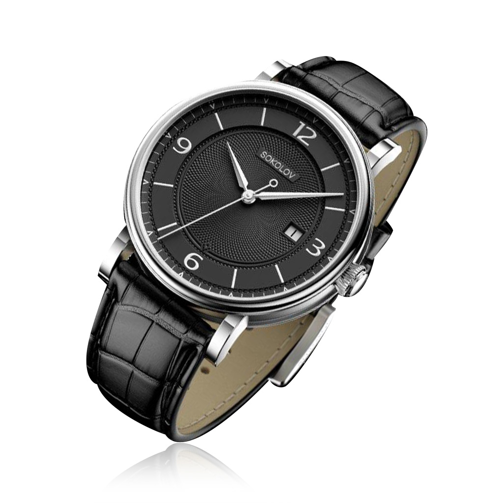 Часы мужские SOKOLOV из серебра 101.30.00.000.04.01.3