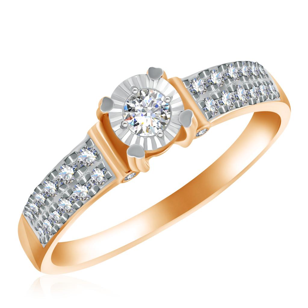 Купить со скидкой Кольцо из золота 1011115
