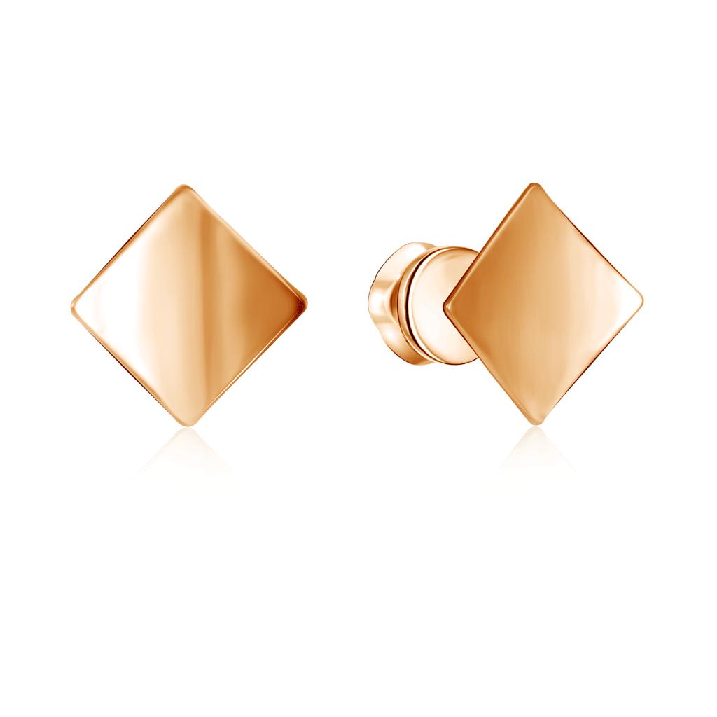 Серьги-пуссеты из золота Д0268-026989