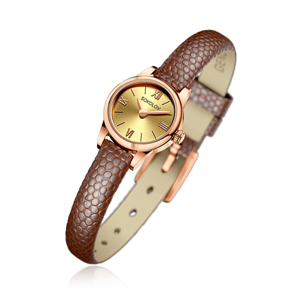 Часы женские SOKOLOV из золота 211.01.00.000.02.03.3