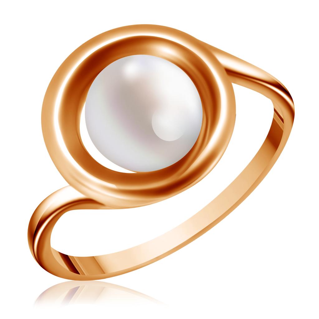 Кольцо из золота с жемчугом 15612106
