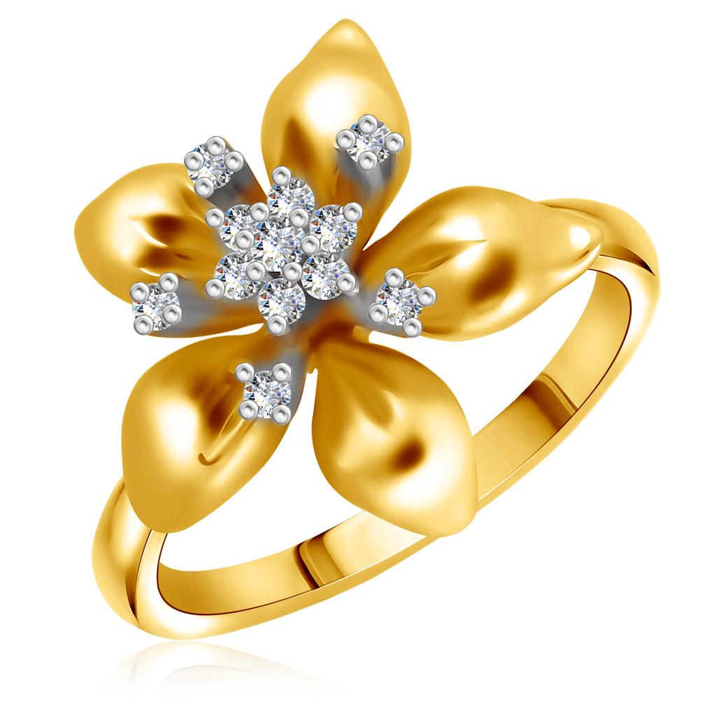 Кольцо из золота 200126-01