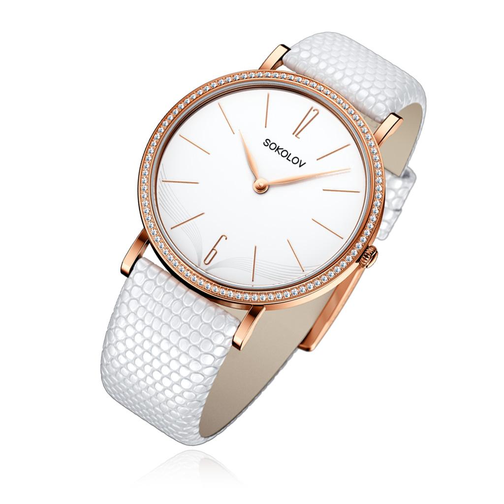 лучшая цена Часы женские SOKOLOV из золота 110.01.00.001.05.02.2