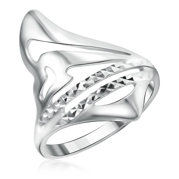 Купить Серебряное кольцо без вставок 94010202