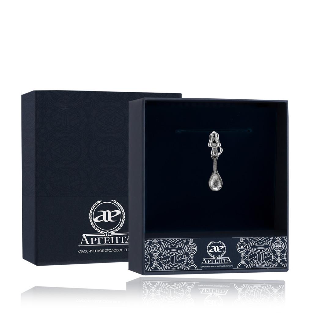 Ложка-загребушка из серебра 506СВ00001 ювелирные сувениры серебро россии ложка загребушка