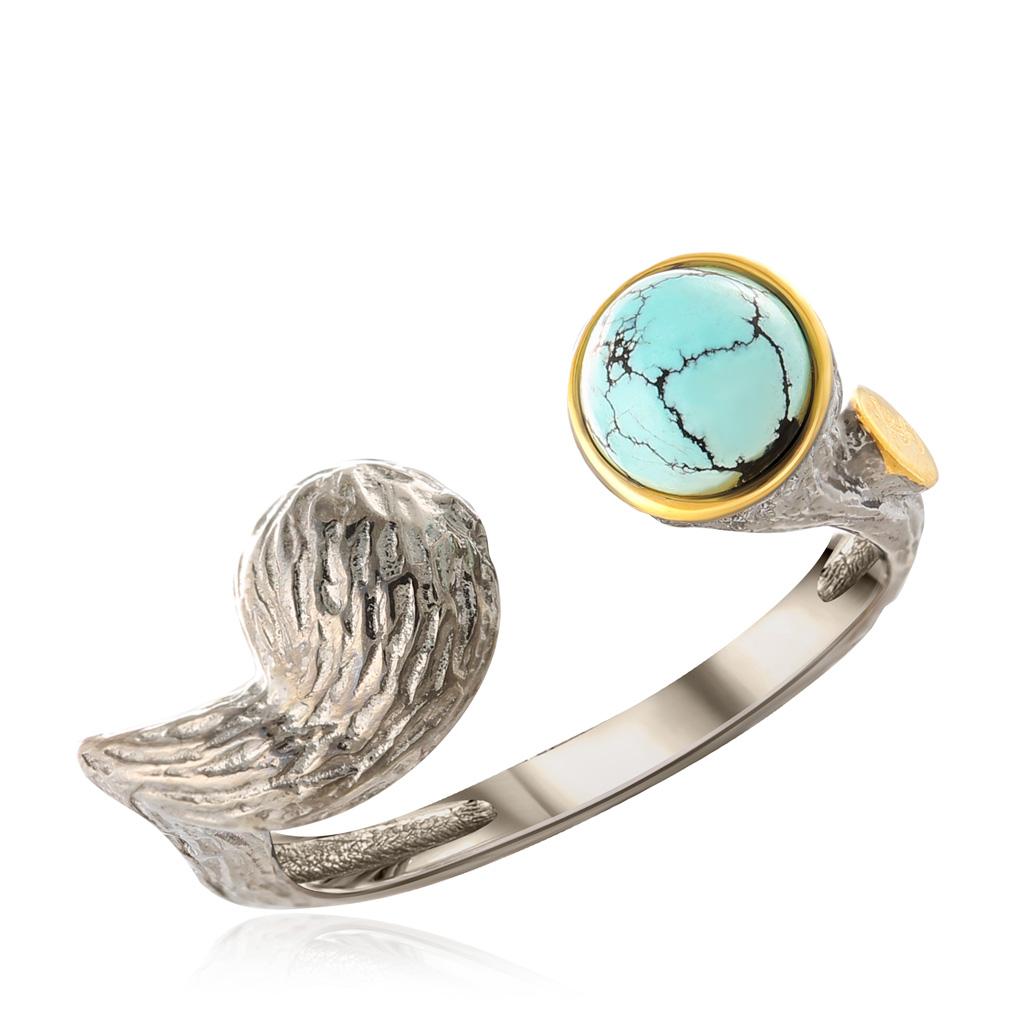 цена на Кольцо из серебра TSR01651-R-TQ