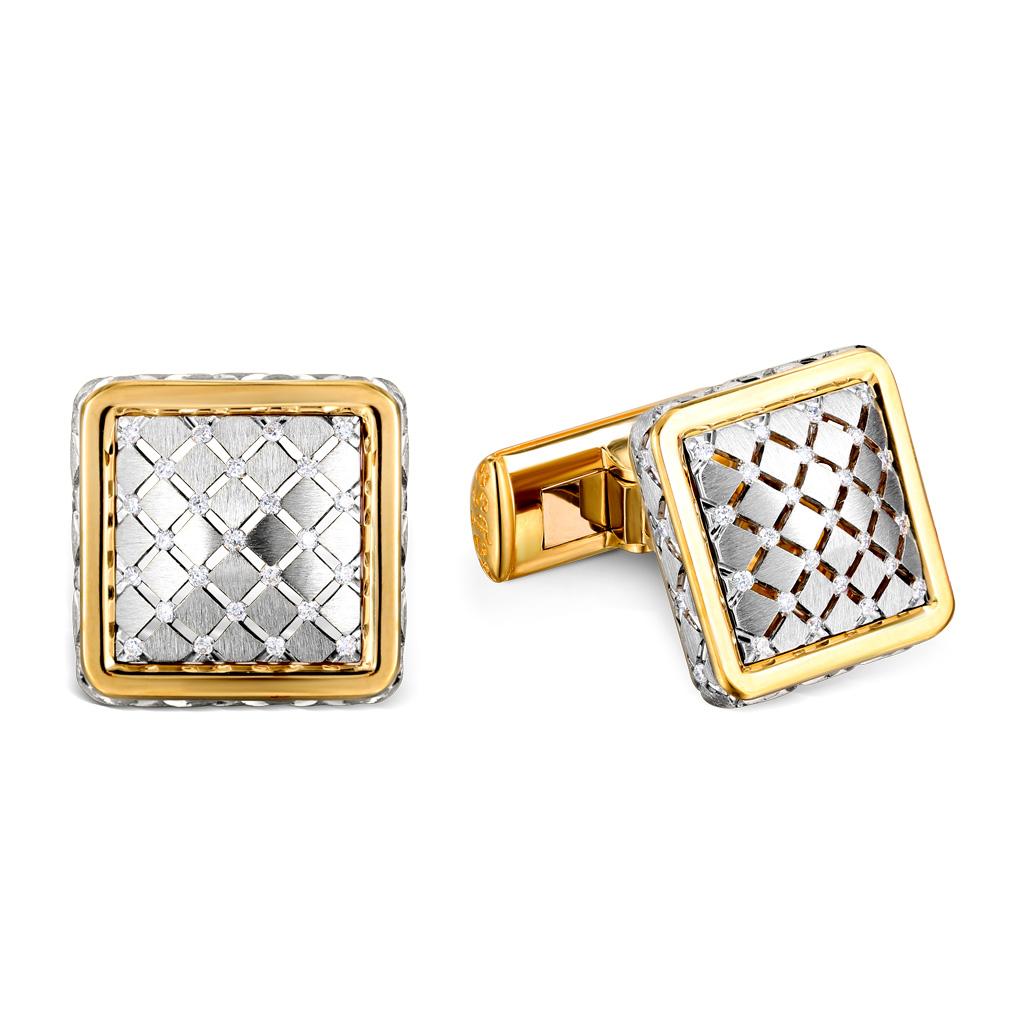Запонки из золота 01Н680120L