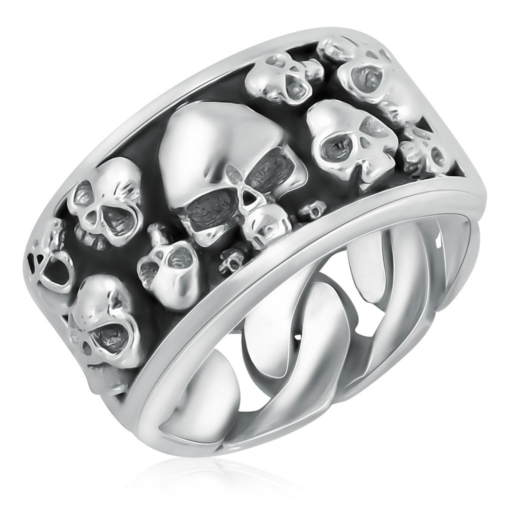 Кольцо мужское из серебра D1117