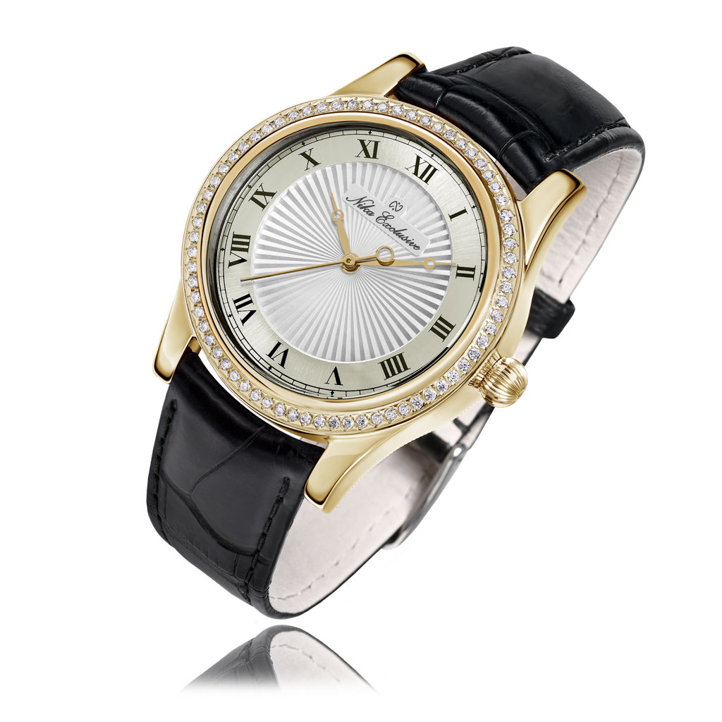 лучшая цена Часы женские НИКА из золота 1100.1.3.101A