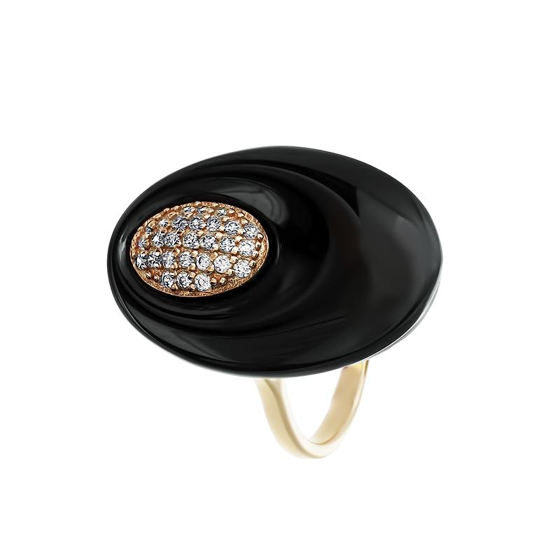 Кольцо из серебра TC-R00025-B-G-X-X-W