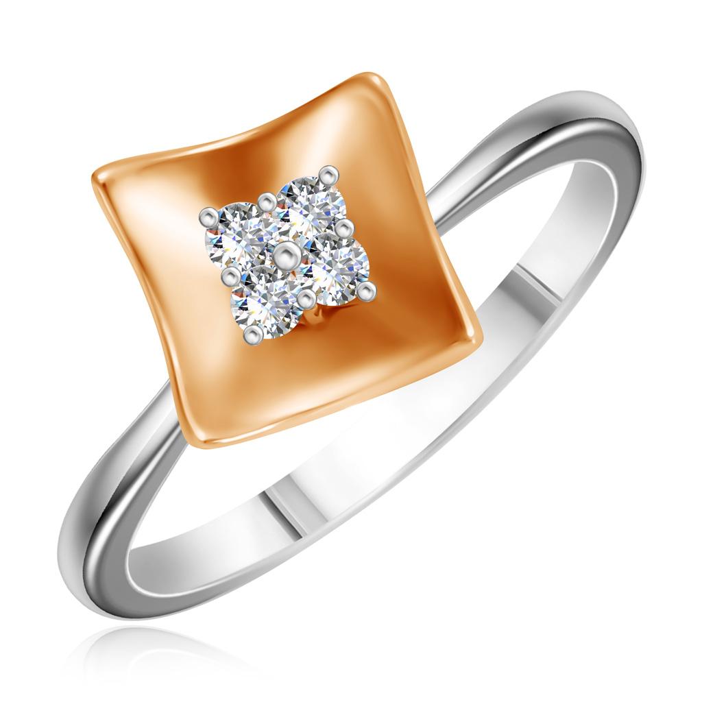 Кольцо из золота 1KPM228