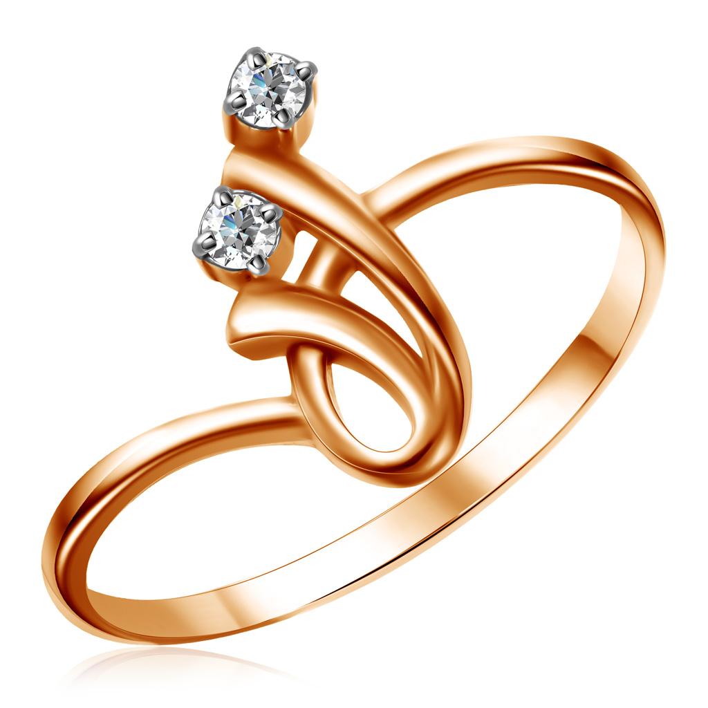 Кольцо из золота 1-3529