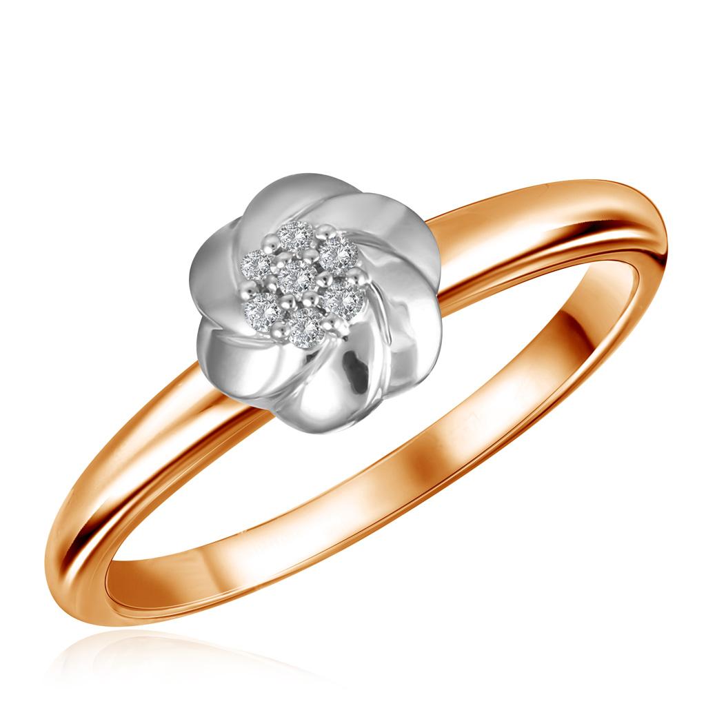 Кольцо из золота R01-D-1983126AD-R17 кольцо из золота r01 d 69002r001 r17