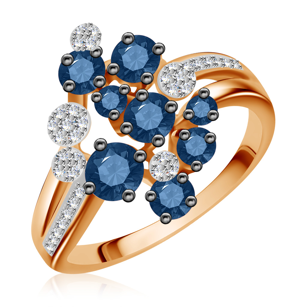 Кольцо из золота CNR80004