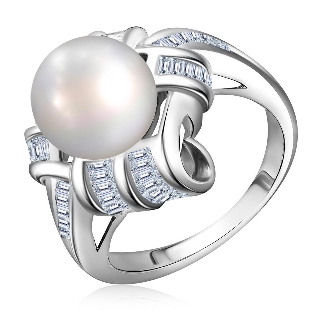 Купить со скидкой Кольцо из серебра S85612043