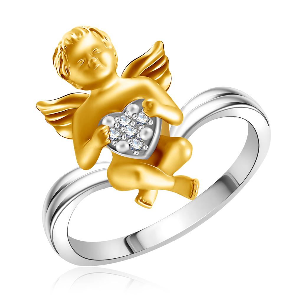 Купить со скидкой Кольцо из золота с бриллиантами D0000745305