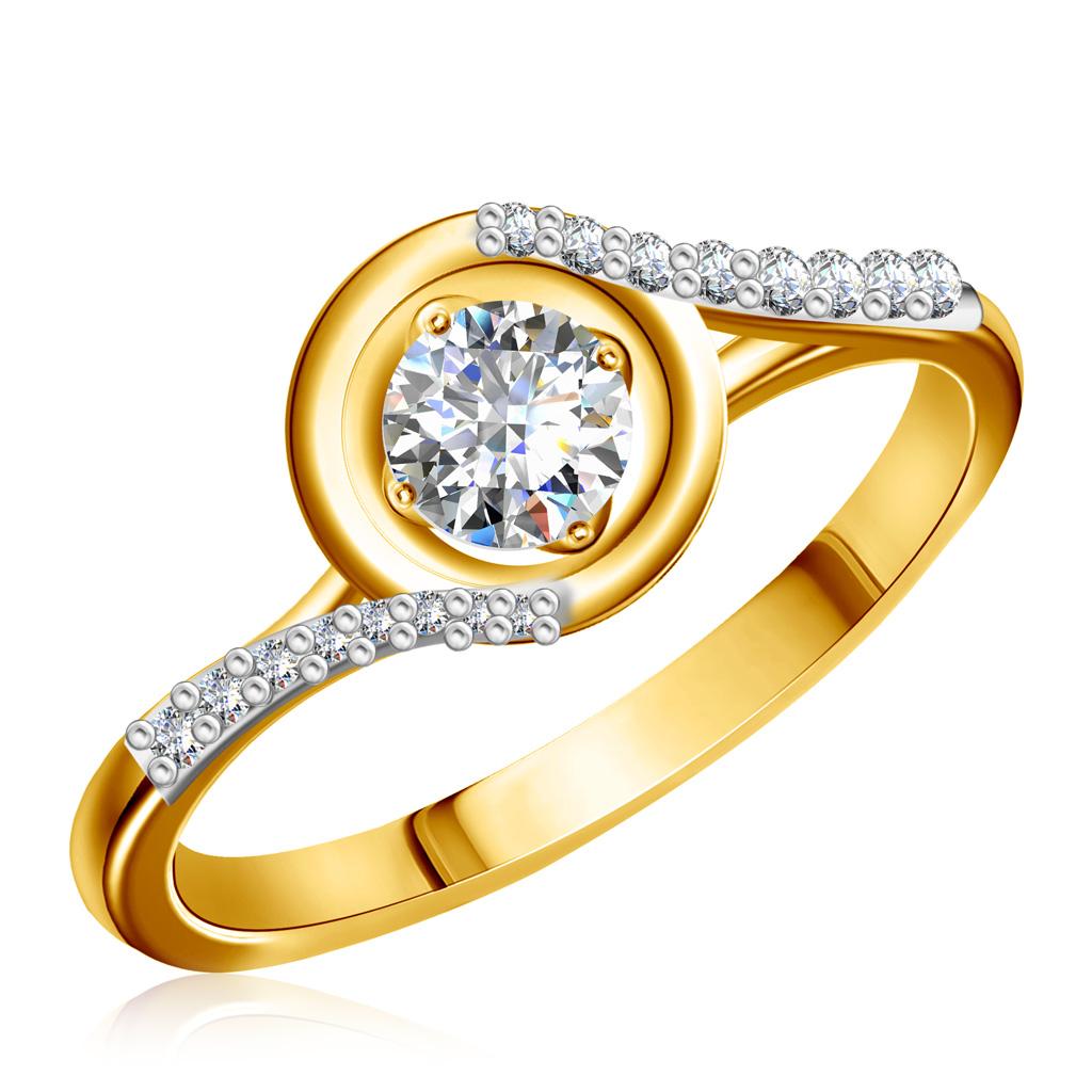 Купить со скидкой Кольцо из золота Э2972-01К139293170