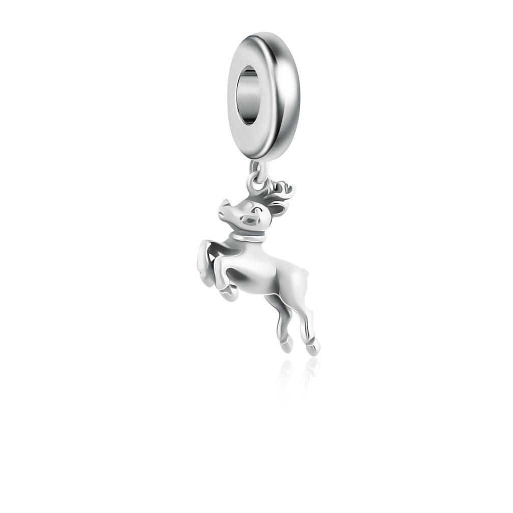 Шарм-подвеска Лесной олень из серебра 79010562000