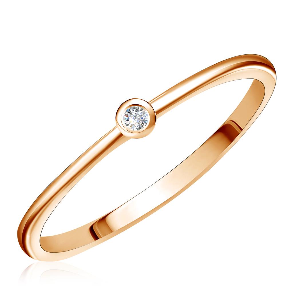 Кольцо из золота Д0268-016706Кольца из красного золота<br>Артикул: Д0268-016706 Металл: Золото Au 585 Вставка: Фианит<br><br>Артикул: Д0268-016706<br>Металл, проба: Золото<br>Цвет металла: Красный<br>Вставка: Фианит