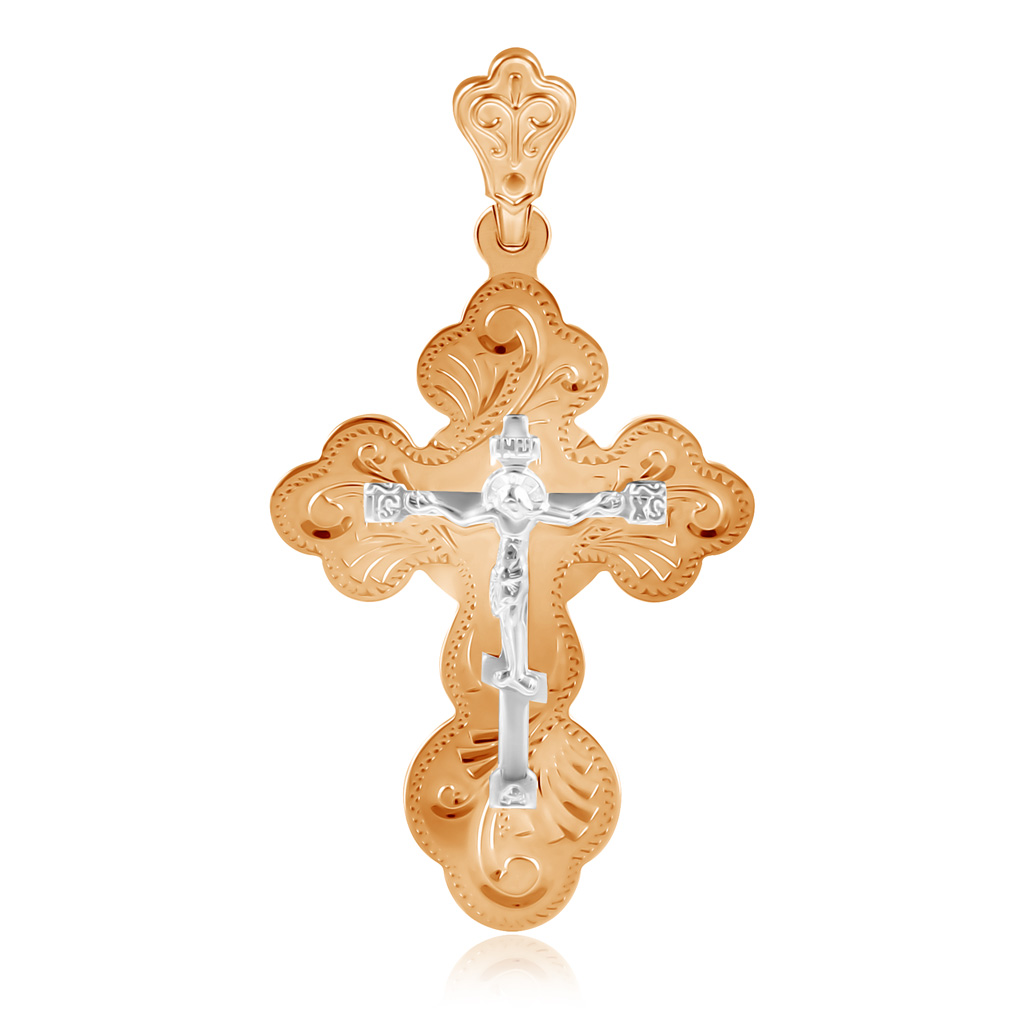 Крест из золота Д0268-121089
