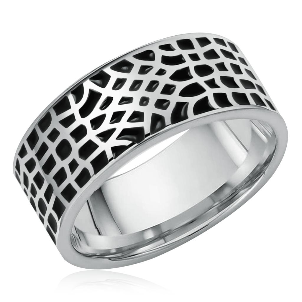 Кольцо из серебра 01-0254/0ЭМ3-00