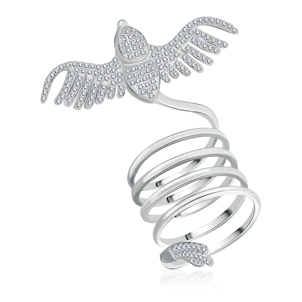 Кольцо из серебра WR23789-BW