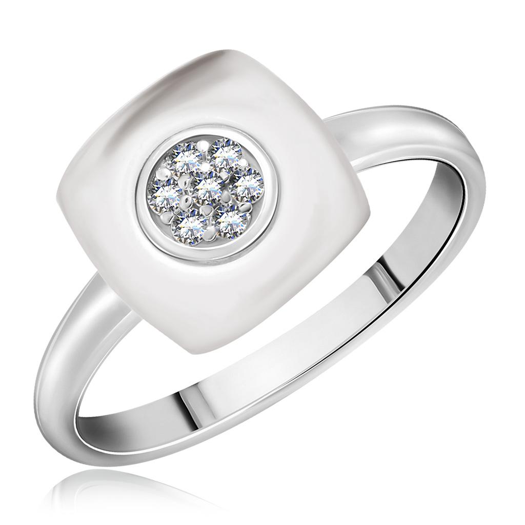 Купить со скидкой Кольцо из серебра 94011615