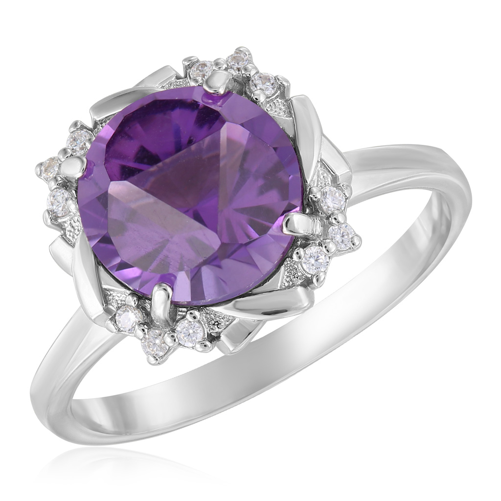 Кольцо из серебра 101035-001-0019 цена