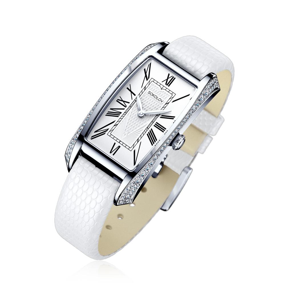 где купить Часы женские SOKOLOV из серебра 119.30.00.001.01.02.2 дешево