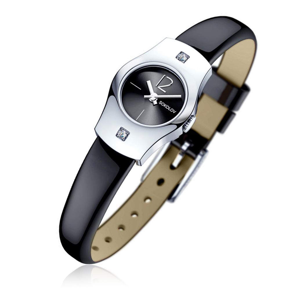 Часы женские SOKOLOV из серебра 123.30.00.001.03.01.2