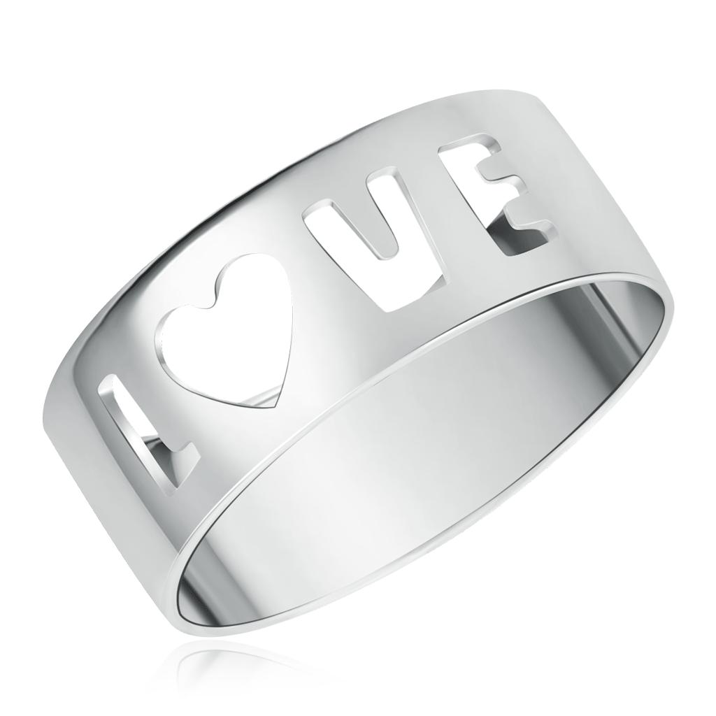Кольцо из серебра без камней 90-01-3729-00