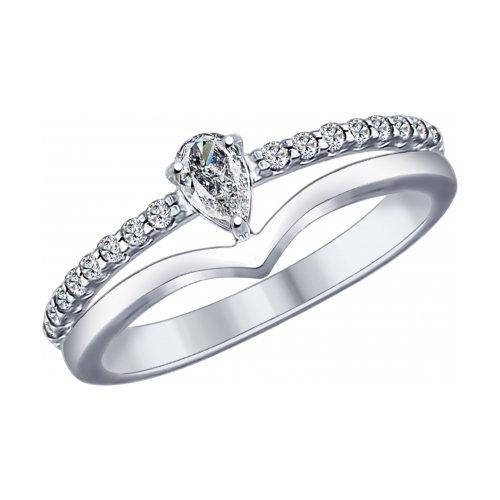 Кольцо из серебра 94012009
