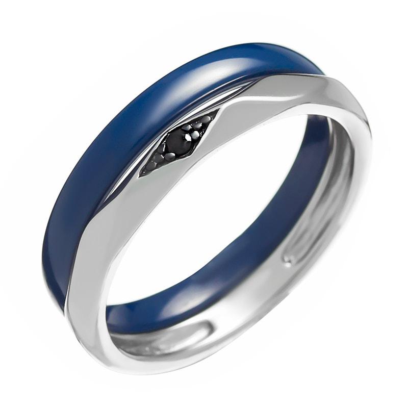 Кольцо из серебра TC-R01037-Вl-W-X-X-B