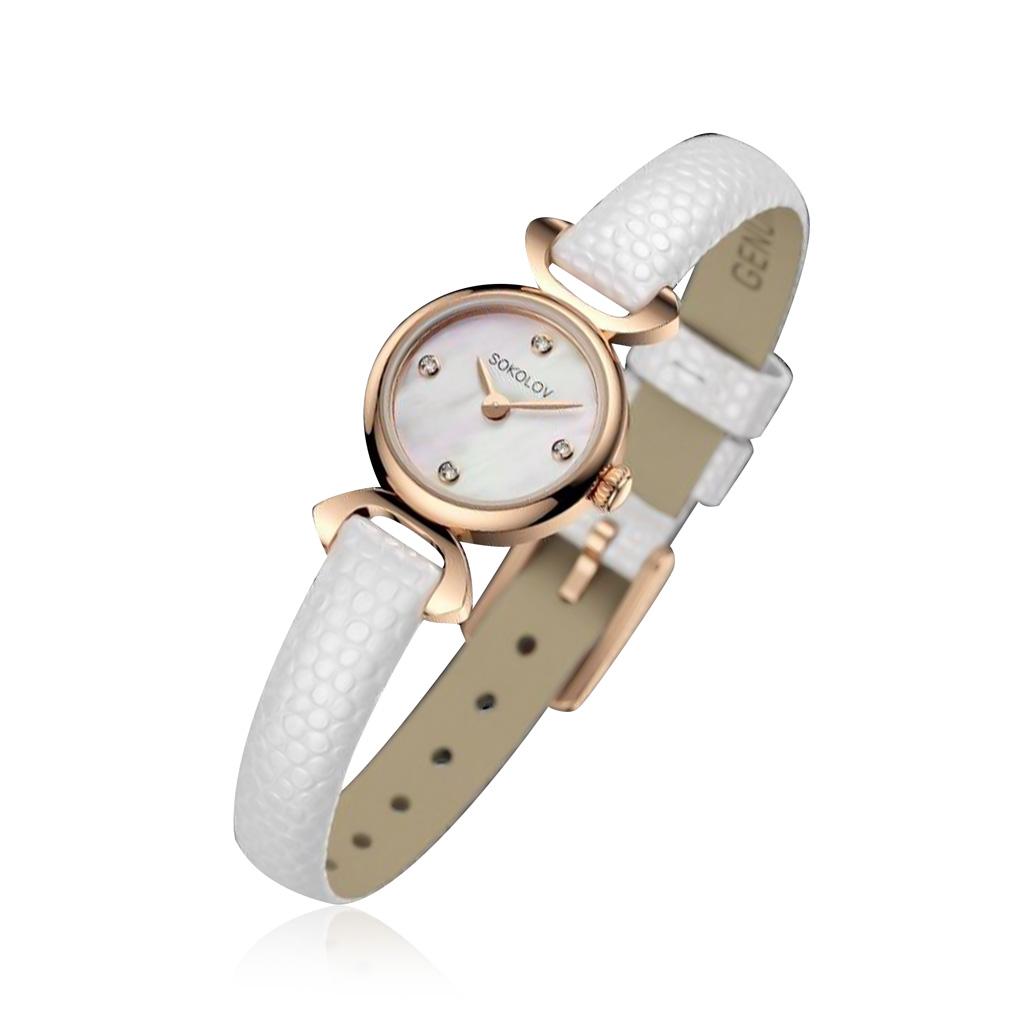 Часы женские SOKOLOV из золота 112.01.00.000.01.02.3 женские часы sokolov 211 01 00 000 01 04 3