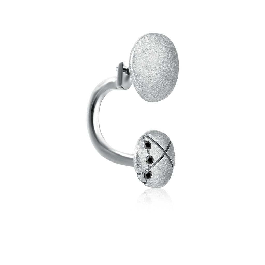 Серьга одиночная из серебра Кл. кр-кр шатура компл 4 шт табурет кр хром к з серебро