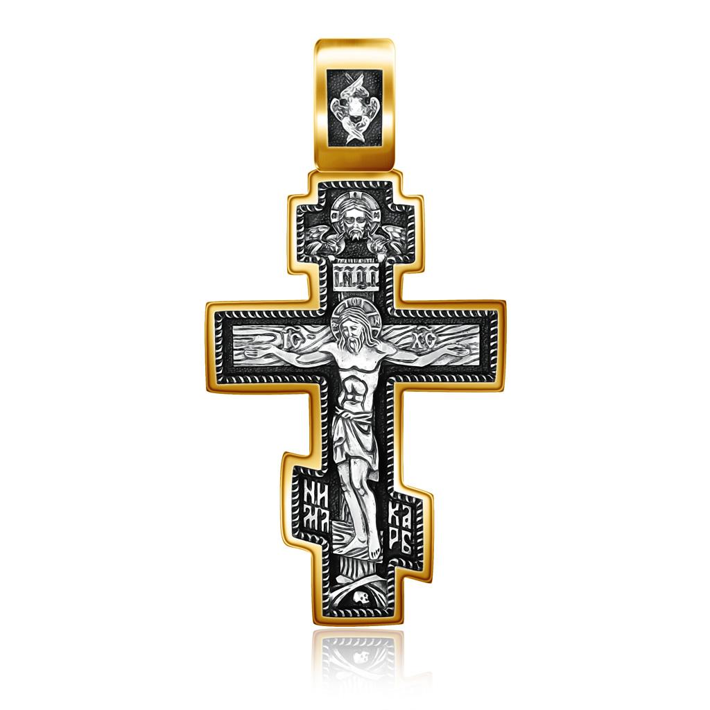 Крест из серебра ,08097з