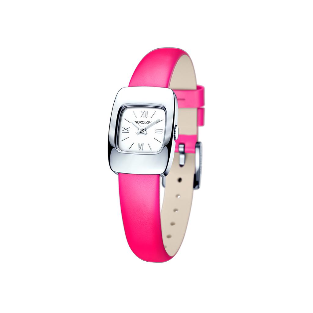 лучшая цена Часы женские SOKOLOV из серебра 124.30.00.000.01.05.2