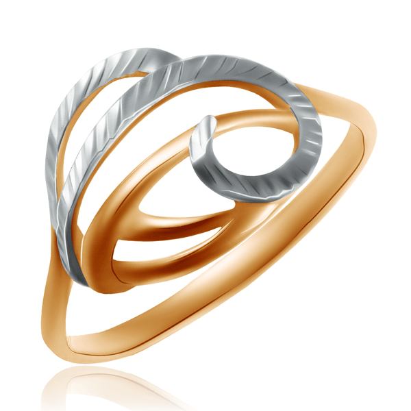 Кольцо из красного и белого золота 7-687 free shipping mini ceramic ball bearing zro2 687 7x14x5mm 618 7