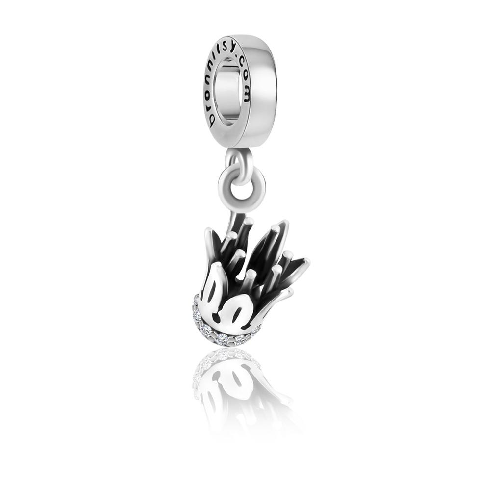 Шарм-подвеска Коронка из серебра 79011479000