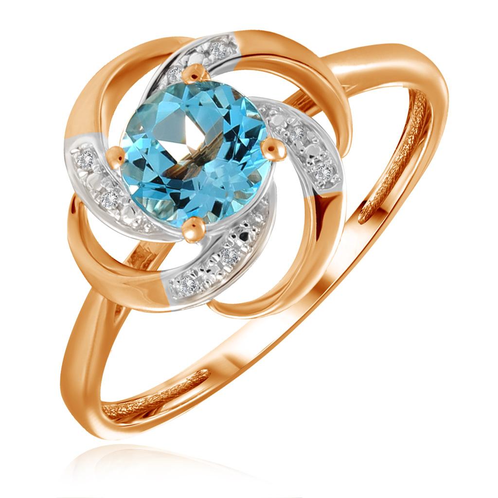 Кольцо из золота R01-D-69017R001-R17 кольцо из золота r01 d 69002r001 r17