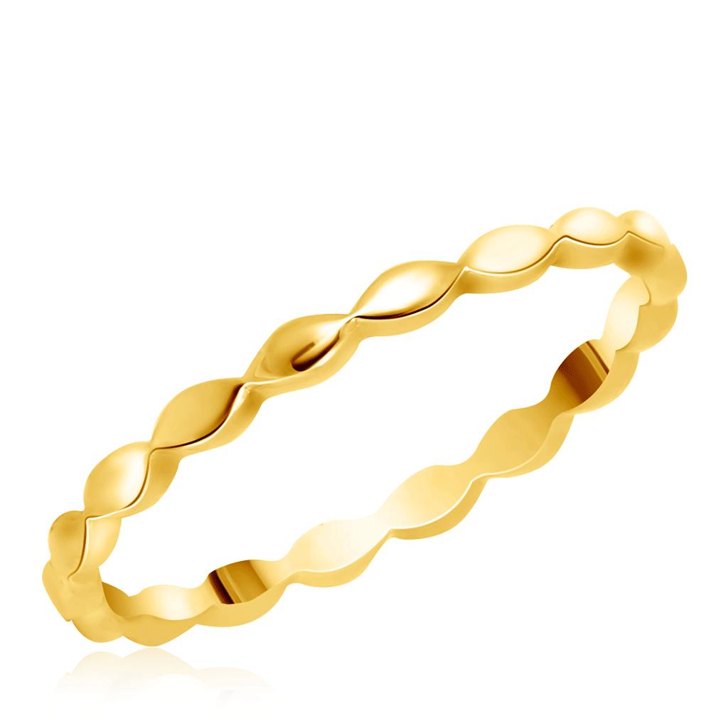 Кольцо из желтого золота 01К037661W 01к037661w